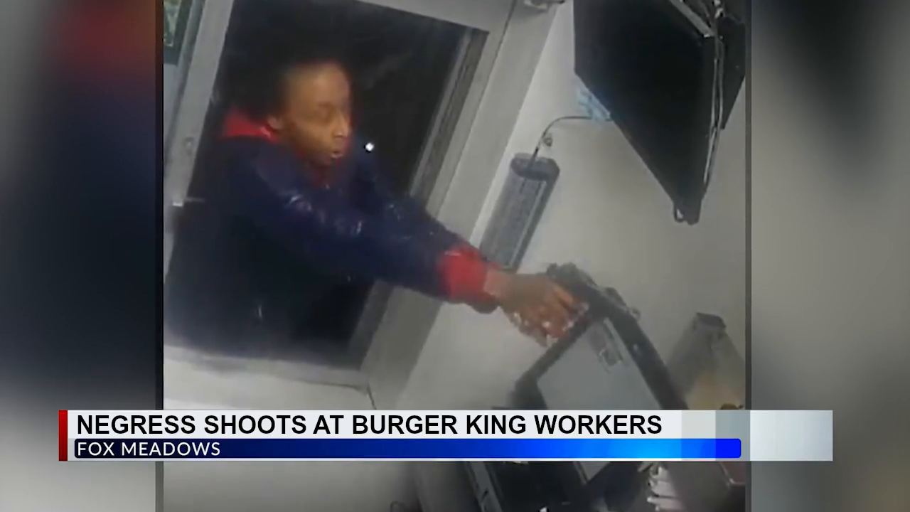 Negress Shoots at Burger Kangs