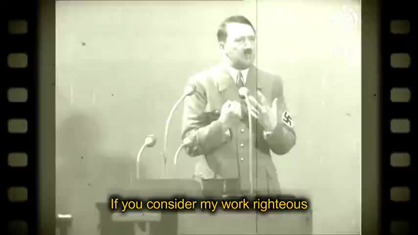 Adolf Hitler: The Germany We Built is the Germany (((They))) Hate