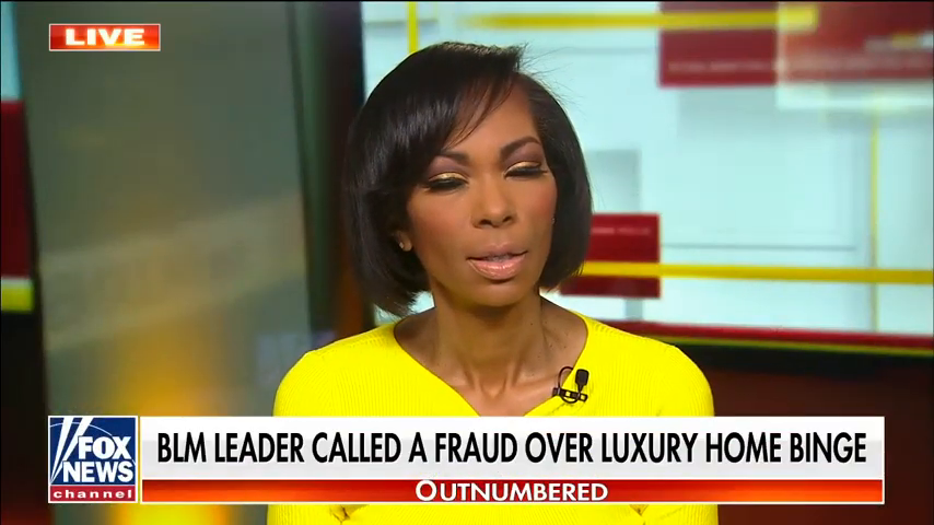 blm founder for being a marxist seems to like money a lot and keeping it for herself