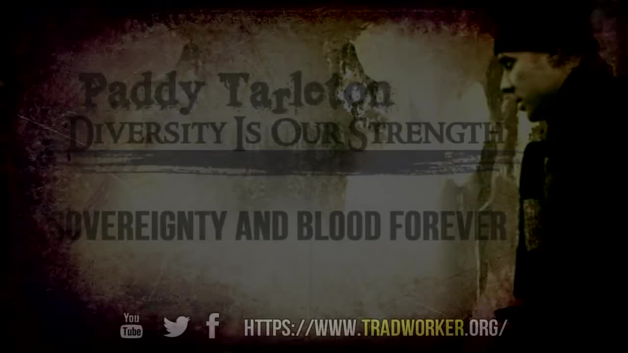 Sovereignty and Blood Forever by Paddy Tarleton