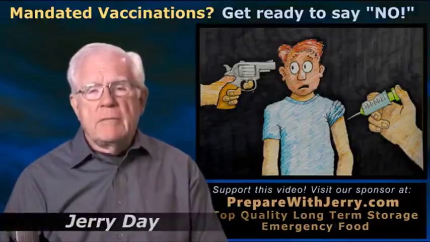 """Murderous Mandated Vaccinations, Just Say """"NO!"""""""