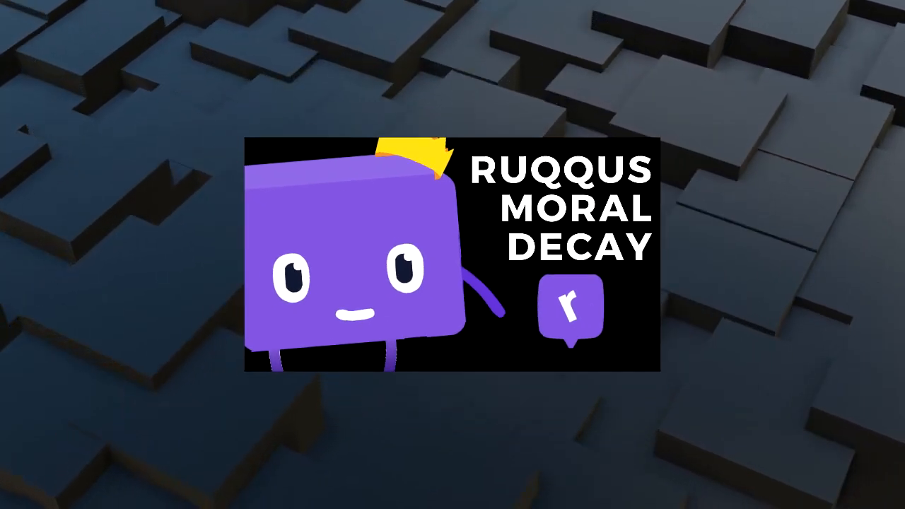 The Moral Decay Page on Ruqqus
