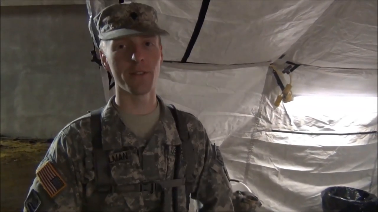 ⁣U.S. Soldiers training in 2013 using zombies as the enemy!!!