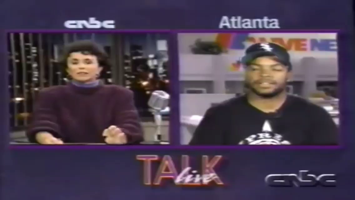 1991 interview w/ Ice Cube - His Jew manager stole from him! lmao