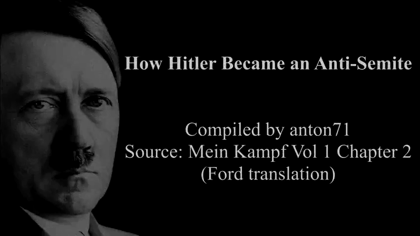 How Hitler Became an Anti-Semite