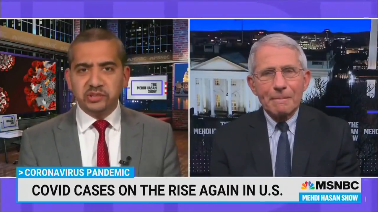 FAUCI SAYS ITS NOT OKAY FOR VACCINATED PEOPLE TO GO TO RESTAURANTS