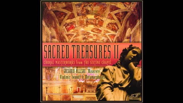 Choral Masterworks from the Sistine Chapel