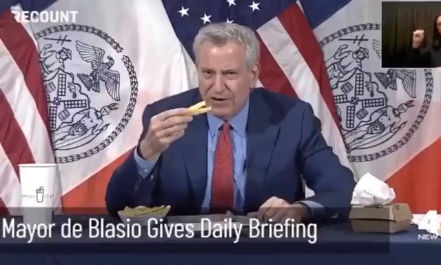 Hey de Blasio , you a clown