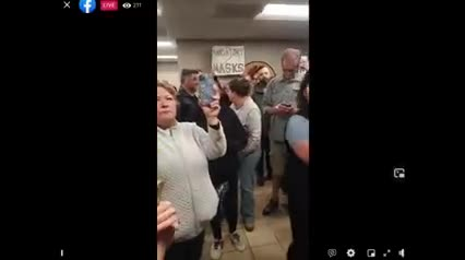 Vail Arizona School Board Walks Out - Parents Elect New Board - Vote to End Mask Mandate!