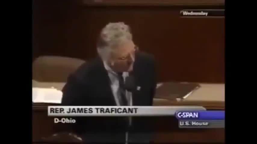 James Traficant - Gave It All To Expose Them