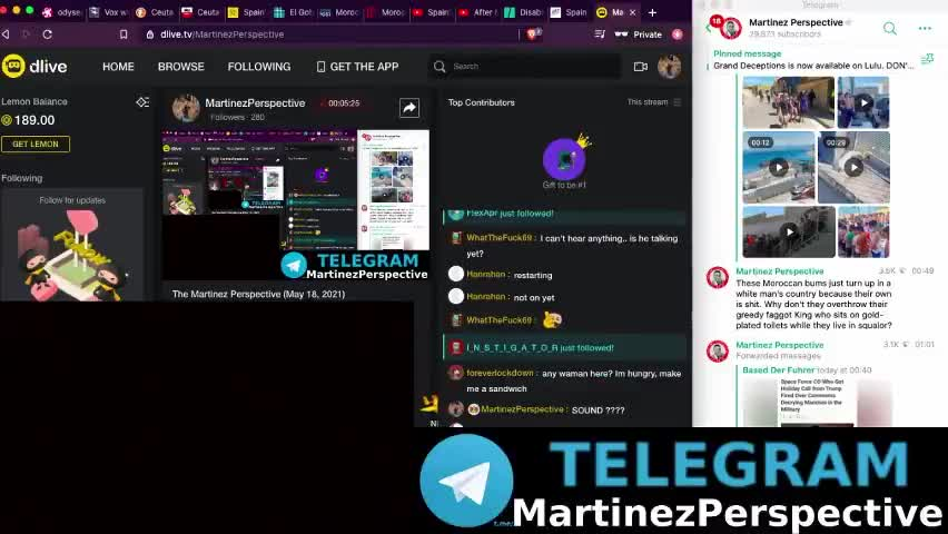 The Martinez Perspective (May 18, 2021) Moroccan Invasion of Spain Commences