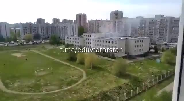 JUST IN - Mass shooting in a school in Kazan, Russia. At least 13 dead, 12 hospitalized. One suspect detained. Another one holds several people hostage.