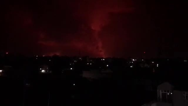 Volcano in eastern Congo erupts, triggering panic in Goma