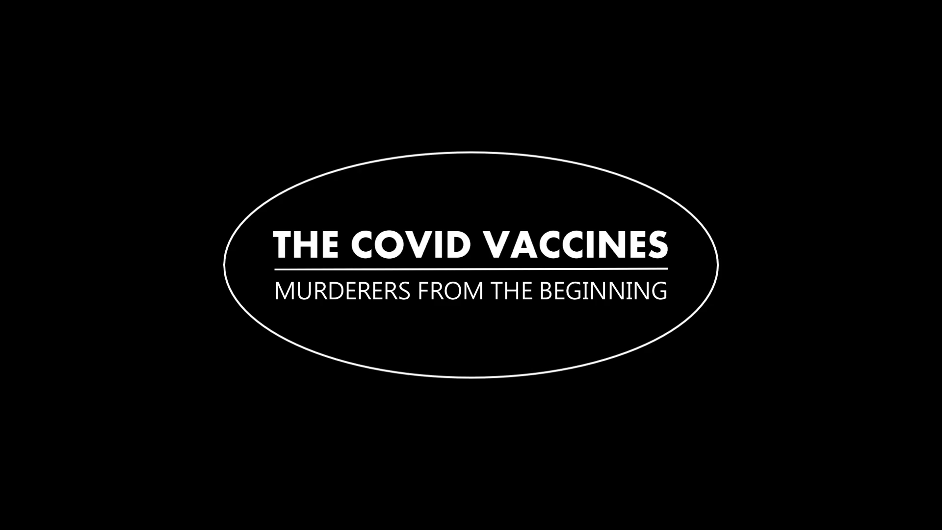 """""""COVID Vaccines"""": Murderers from the beginning ... and many , many more not reported"""