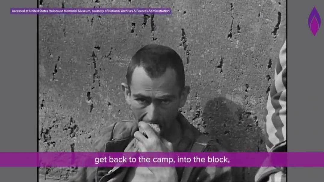 """Leaving Auschwitz """"even the guards were starving"""""""