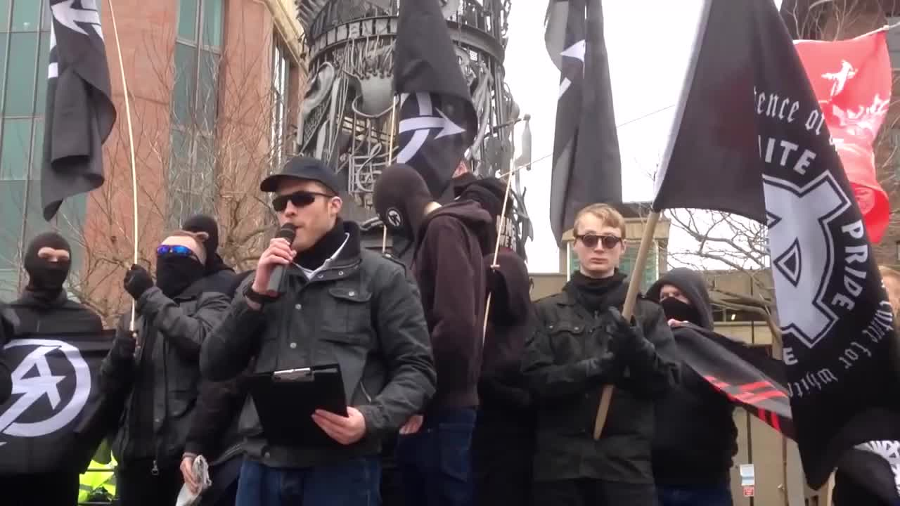 Speech from the White man march - Newcastle uk 21/3/2015