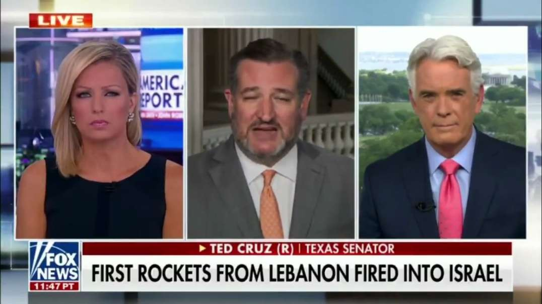 "Ted Cruz: ""Biden administration needs to act today to ensure that Israel has an adequate supply of Iron Dome missiles."""