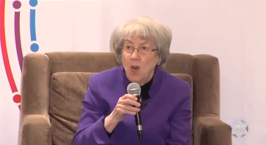 Granny Israel with the matronly appearance but those spiteful dead eyes barking orders to American Jews to support the mothership