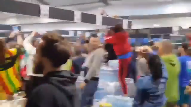 """As the only place large gatherings are permitted in Holland under the """"covid"""" restrictions are supermarkets, the Dutch took the initiative and held a supermarket rave"""