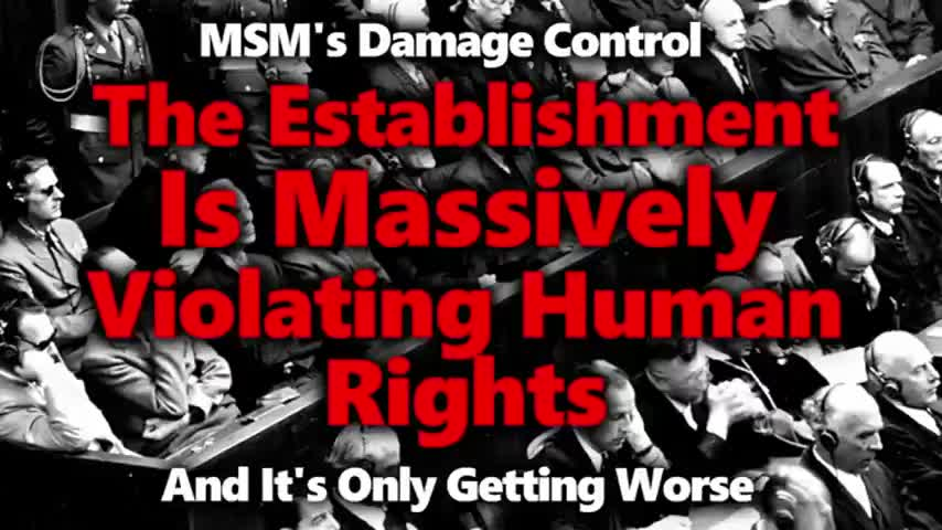 Yes, The Injections Are Experimental And Coercion Violates The Nuremberg Code. MSM Complicit
