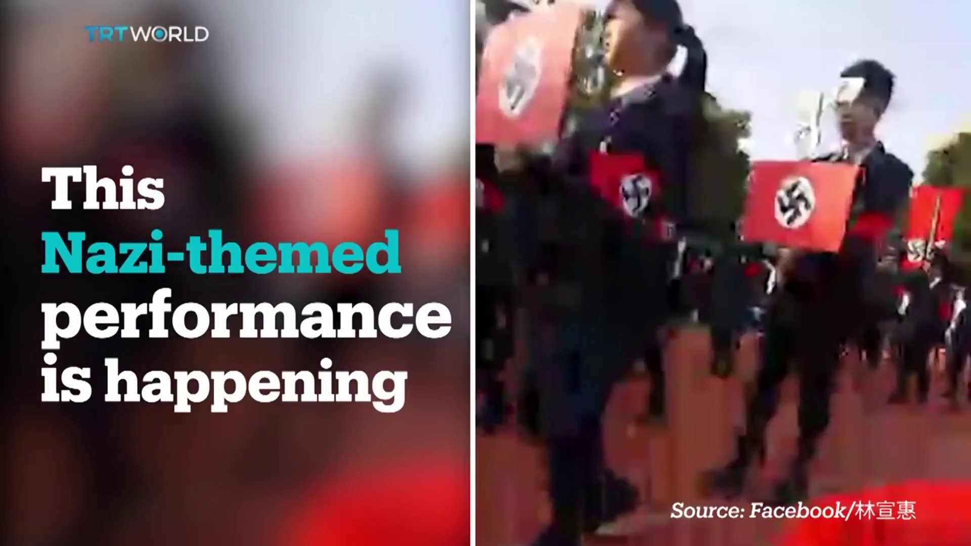 High school in Taiwan puts on Nazi-themed Christmas parade