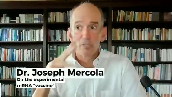 ⁣Dr. Mercola on the experimental mRNA technology they are injecting in people. It's the largest medical experiment in human history.