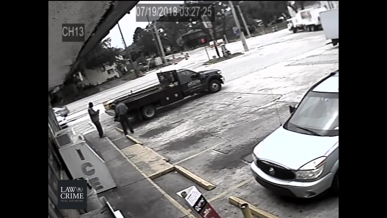 Savage Nigger tries to maul Elderly White Man; Nigger gets shot; White guy gets charged 40 years