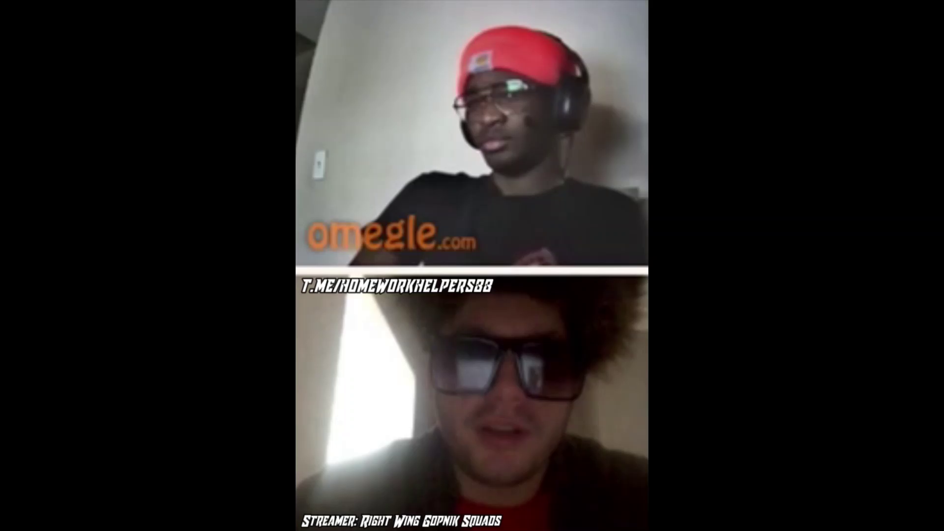 some Omegle Clips