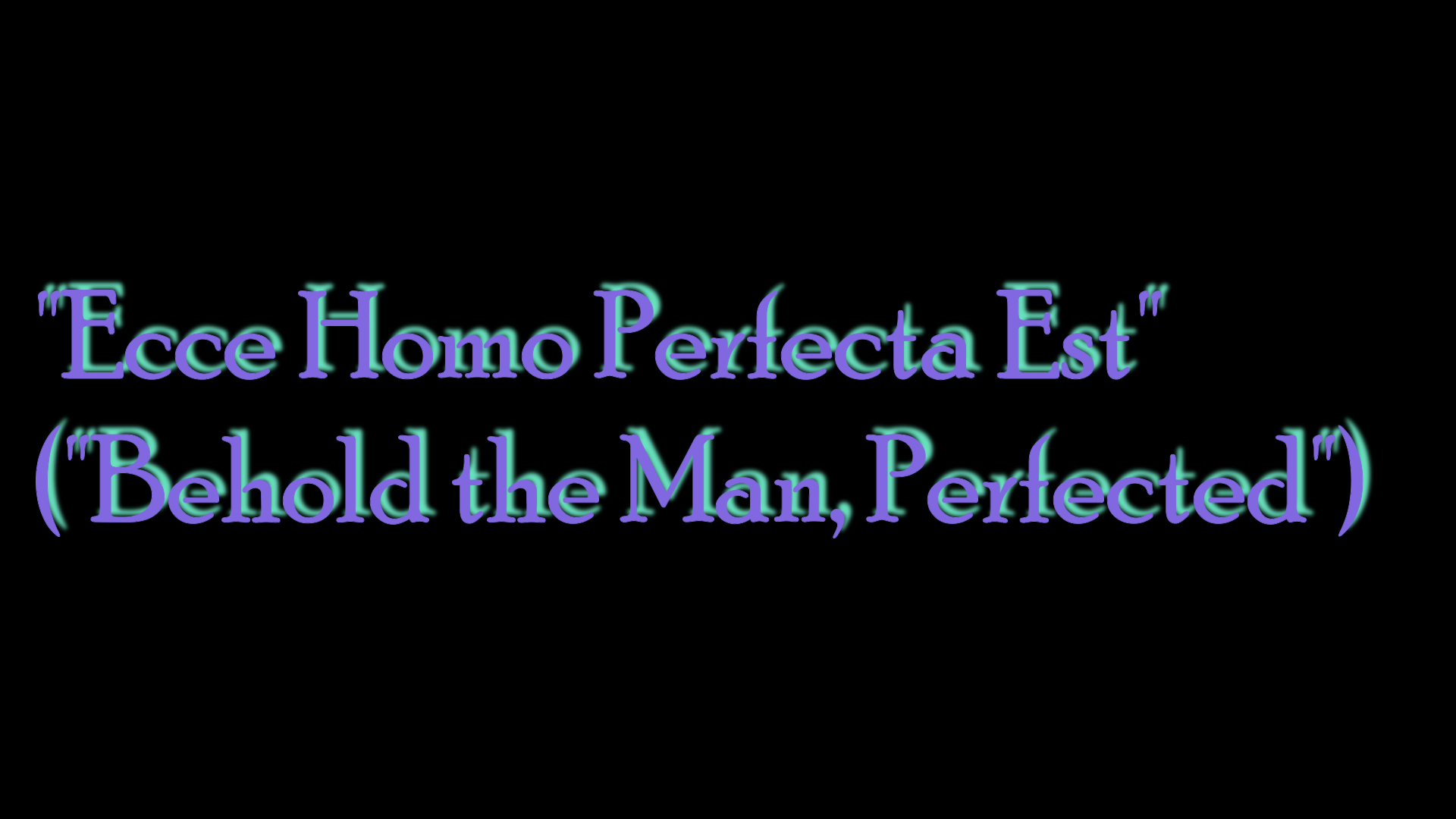 """""""ECCE HOMO PERFECTA EST"""" (""""Behold the Man Perfected""""): A Post-Easter Oil Painting Timelapse"""
