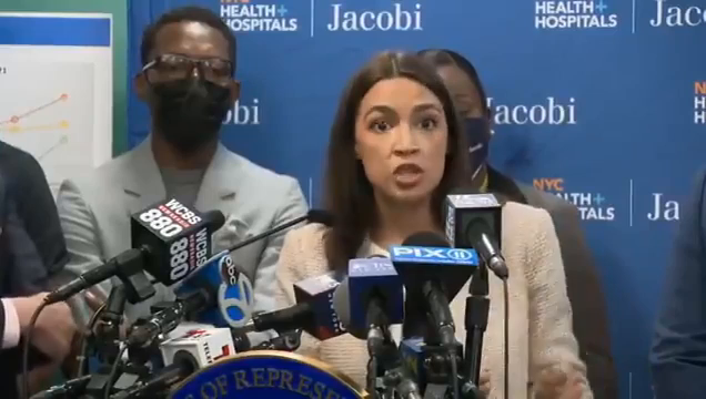 """""""It is not acceptable for us to use jails as garbage bins for human beings. We need to treat people and see them as human."""" - AOC"""