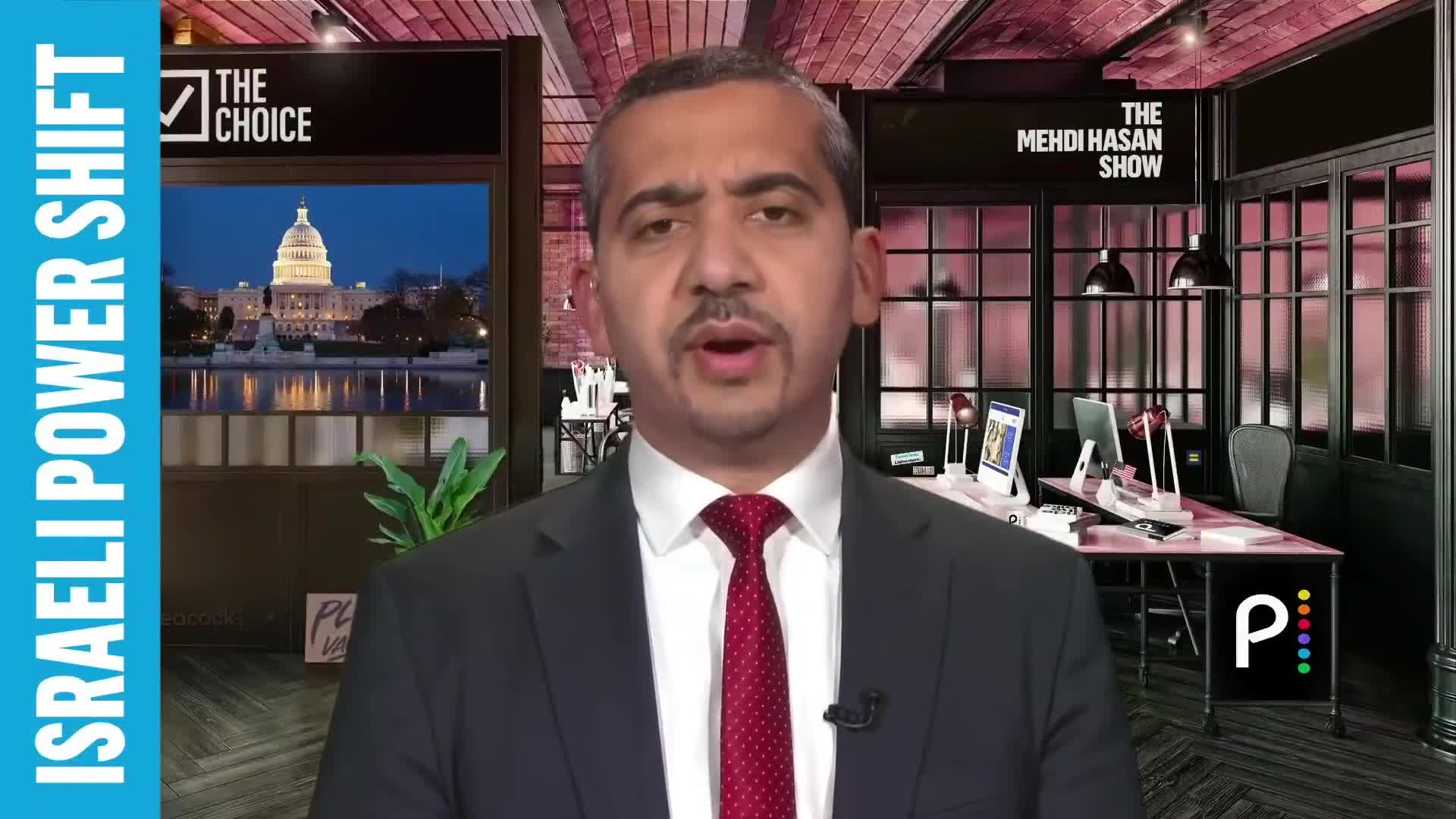 """🇮🇱💰1 Criminal Leaves; Another Takes Place:  """"Meet Israel's Likely New Prime Minister"""" (By: The Mehdi Hasan Show)"""