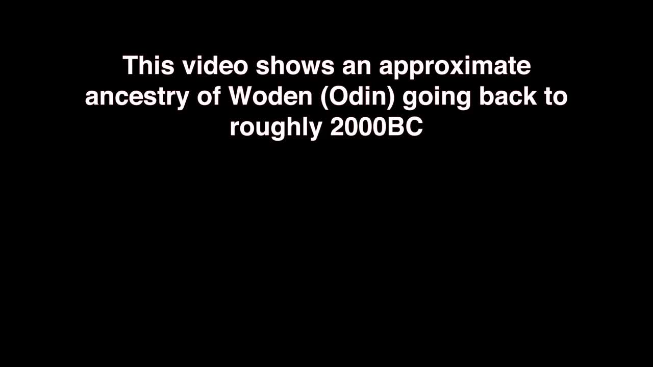 Odin's Ancestry - An Amazing Timeline Going Back to 2000 BC