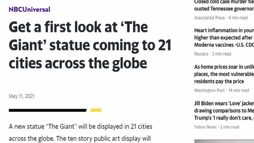 21 Giant Shapeshifting Statues to be Built by 2023