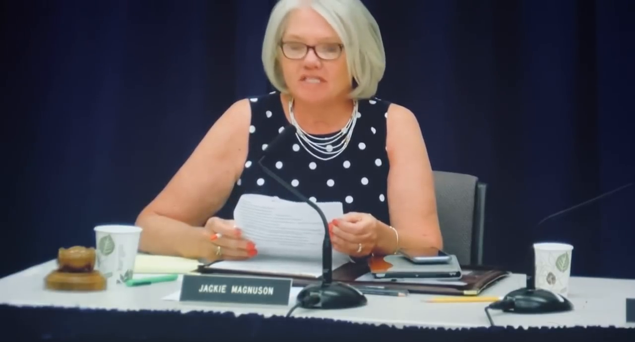 Zoomer tells school board about his first day at school... Welcome to Weimerica
