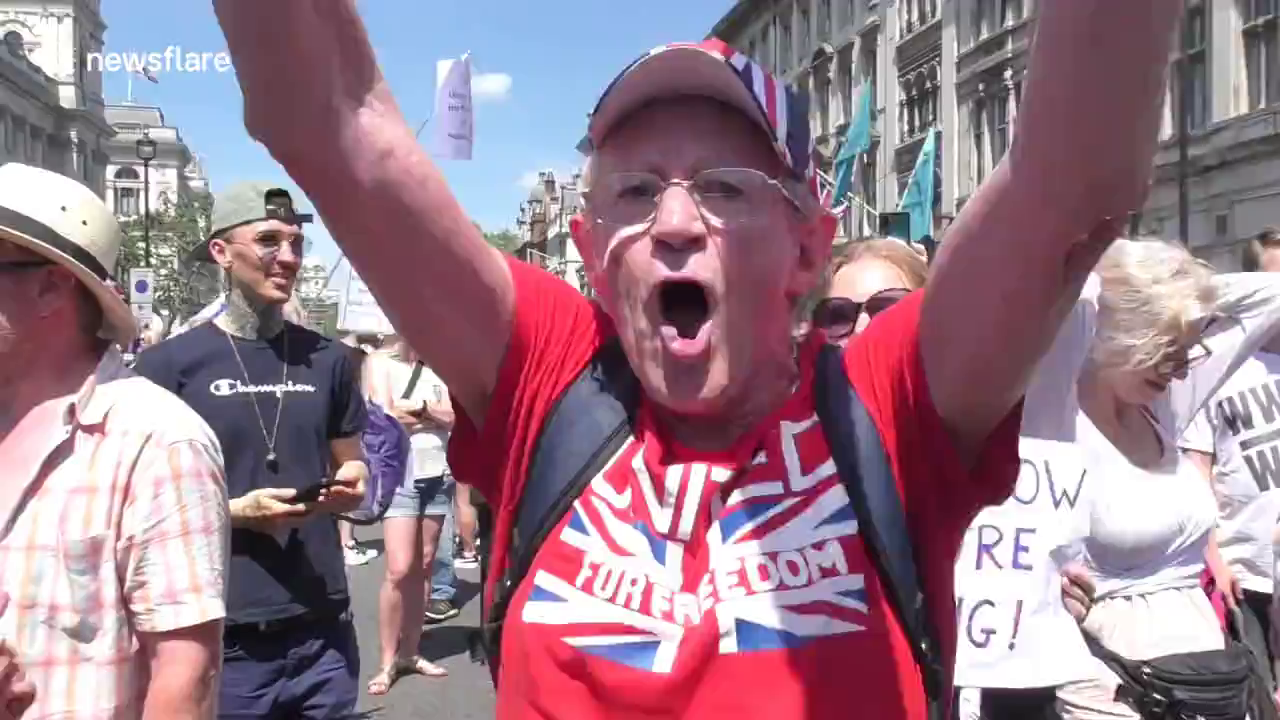If only these morons would fight FOR Britain as they fight AGAINST covid then we would be saved