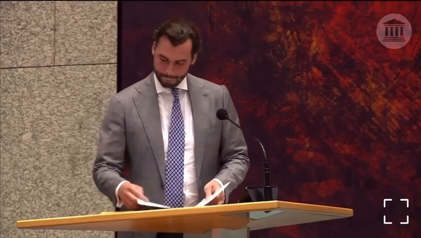 This man brings the Rockefeller lock step scenario published in 2010 to the parliament
