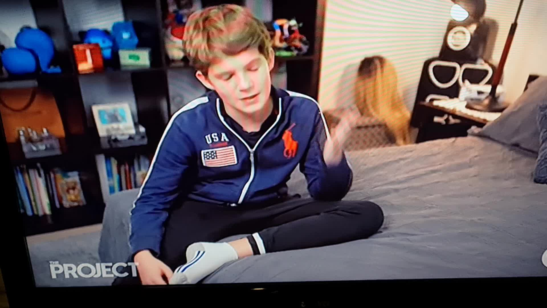 Promo piece on Aussie tv last night for movie about drag nights starring a young boy. He was 12 at the time of filming. Sick pedos watching.