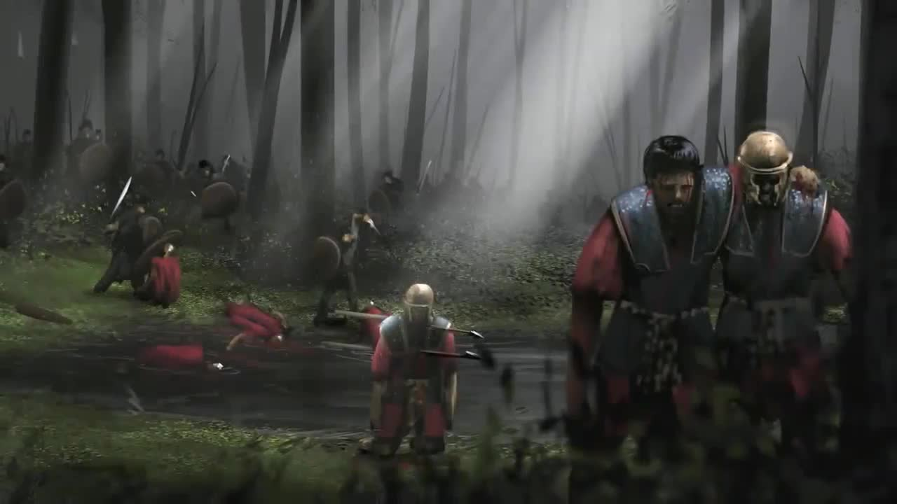 Germanic victory, aftermath of the Teutoburg Forest.