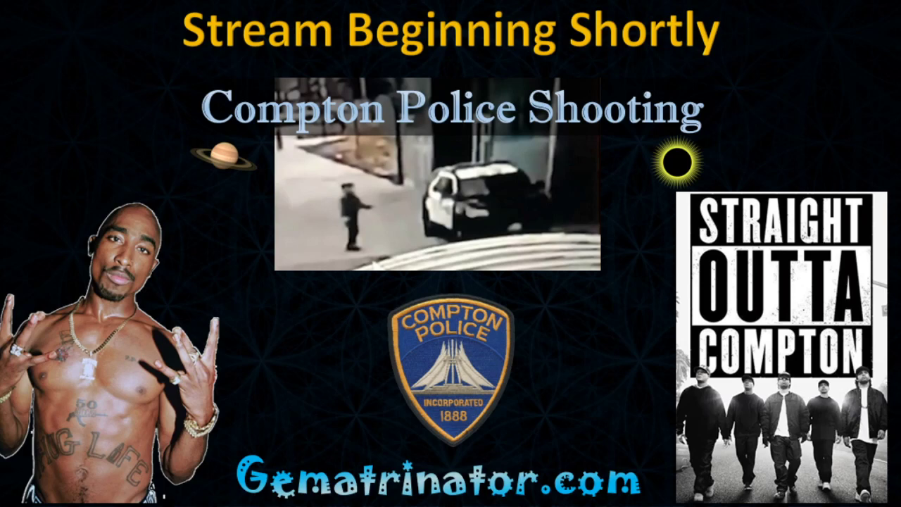 Police Ambush (Fake Event) in Compton, CA - By the Numbers!