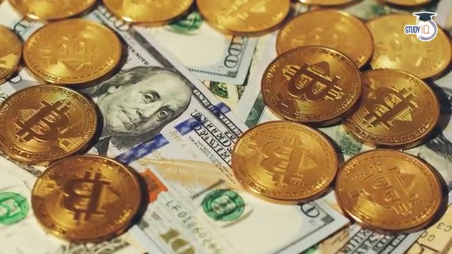 Can Bitcoin replace Dollar as a global currency? Comparison between Fiat Currency & Crytocurrency source: Study IQ education