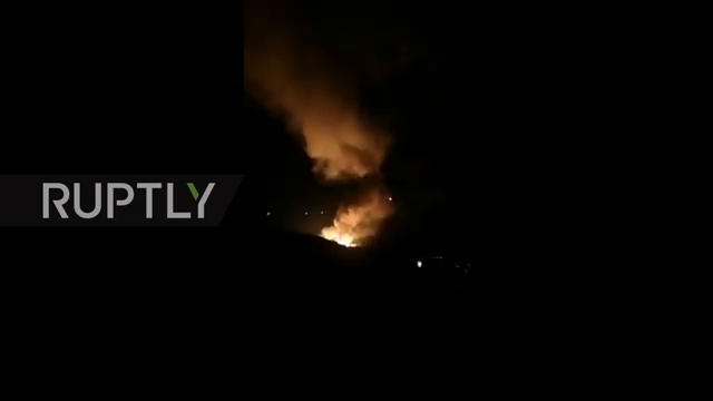Serbia: Series of explosions light up the sky above munitions factory in Cacak