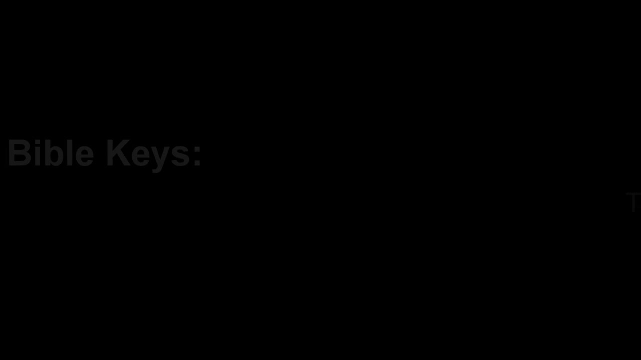 Keys to understanding the Holy Bible