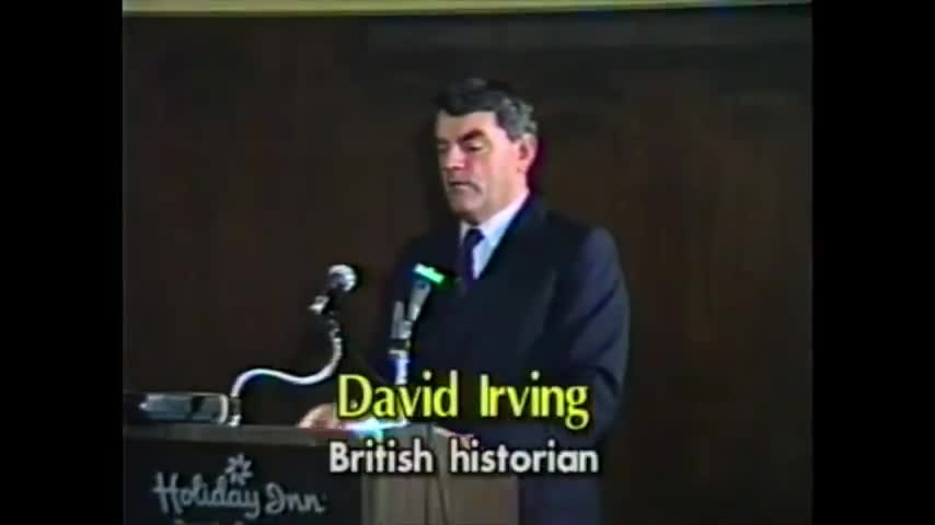 David Irving - The Truth About Adolf Hitler and World War 2