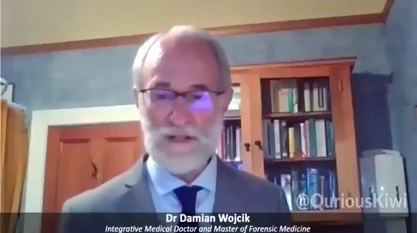 New Zealand — Dr Damian Wojcik speaks out against the COVID vaccine