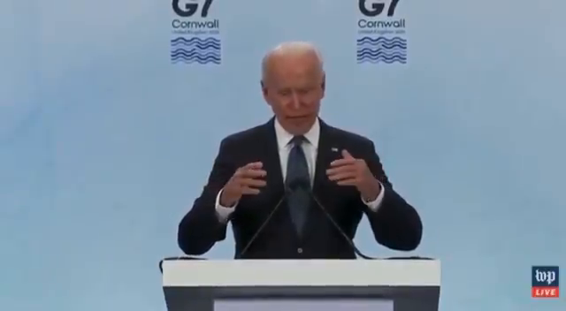 """""""A lot of people may not know what COVID is"""" - Joe Biden - So COVID is a monetary system to fund vaccines"""