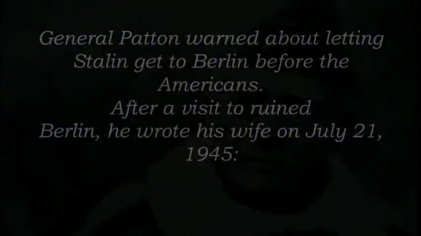 George S.  Patton - We Defeated The Wrong Enemy