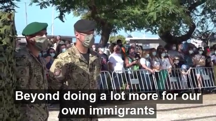 The kike Portuguese President fully supports population replacement in latest speech