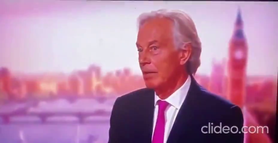 """'""""the evidence is absolutely clear"""" said the GLOBALIST PUPPET PEDO FAGGOT TONY BLAIR,"""