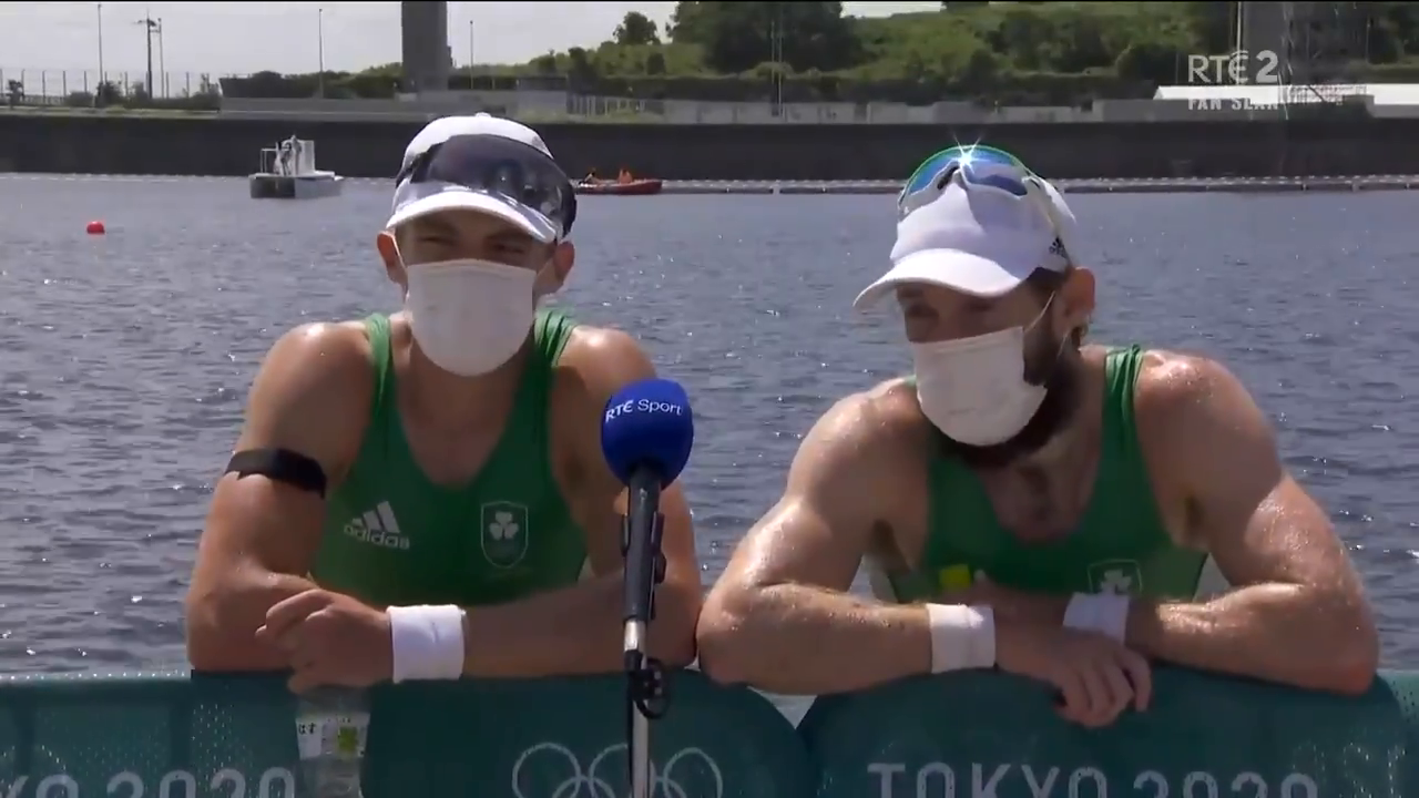 2 Irish Olympic Champions barely able to breathe through their jew face nappies