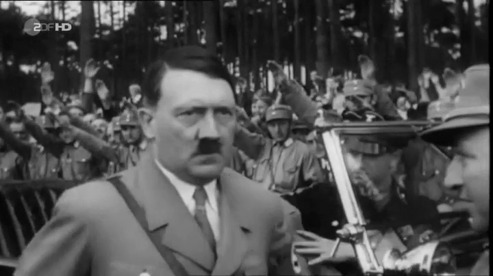Adolf Hitler Looking Nervous Then Instantly Snaps Into Being The  Man